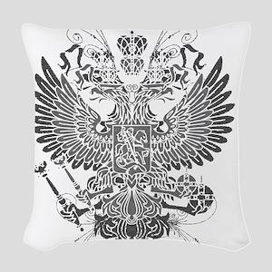 Byzantine Eagle Woven Throw Pillow
