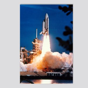 Launch of Columbia, the f Postcards (Package of 8)