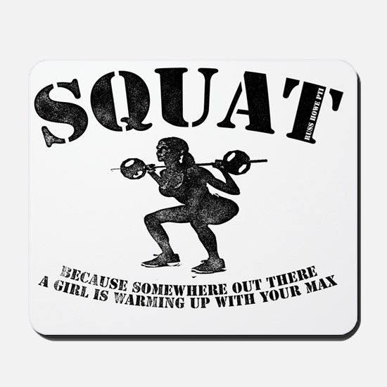 Squat Mousepad