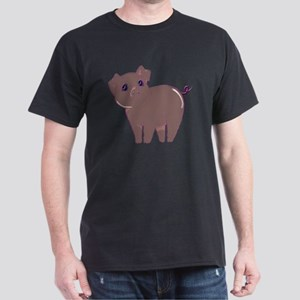 Cute little piggy Dark T-Shirt
