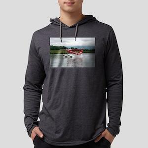 Float plane taking off, Alaska Long Sleeve T-Shirt