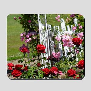 Rose Garden Mousepad