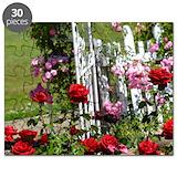 Pink rose garden Puzzles