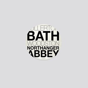 Northanger Abbey Locations Mini Button