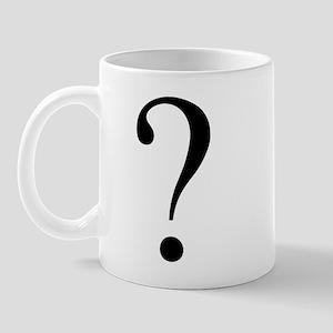 Unknown gender question mark Mug