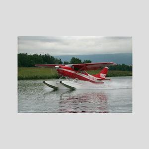 Float plane taking off, Alaska Magnets