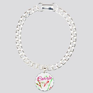 Carrie-Purse Charm Bracelet, One Charm
