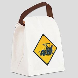 Ladies Golf Canvas Lunch Bag