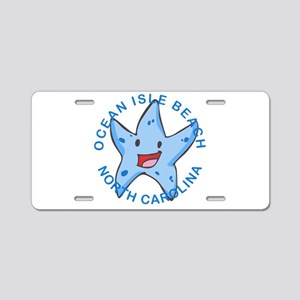 North Carolina - Ocean Isle Aluminum License Plate