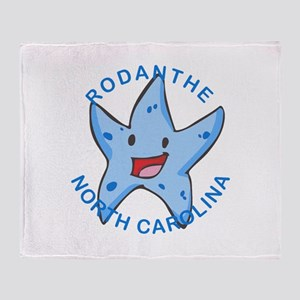 North Carolina - Rodanthe Throw Blanket