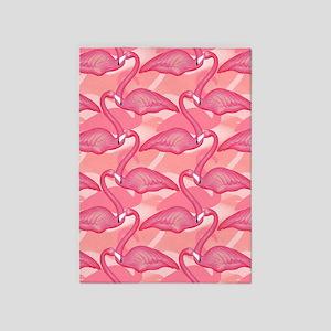 pinkflamingo_6192 5'x7'Area Rug