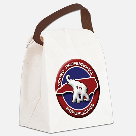 NCFYPR Logo Canvas Lunch Bag