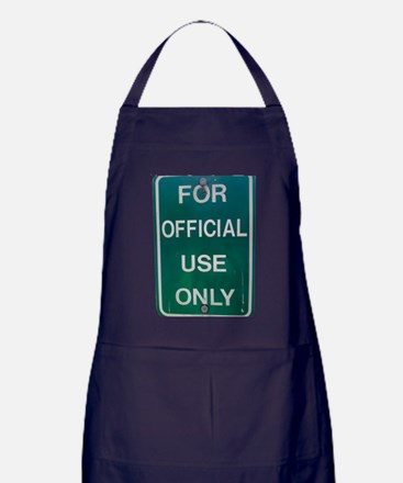 For Official Use Only Apron (dark)