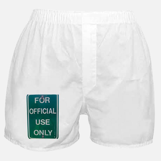 For Official Use Only Boxer Shorts