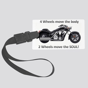 Biker Quote Large Luggage Tag