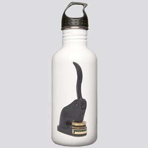 Black Antique Seal Mak Stainless Water Bottle 1.0L