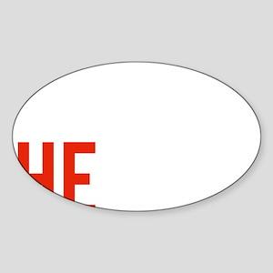 tonightTheNight5B Sticker (Oval)