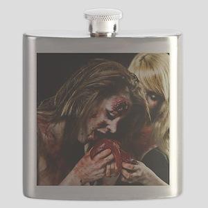 Crazy Zombie Girls Flask