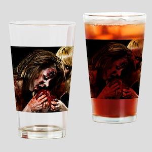 Crazy Zombie Girls Drinking Glass
