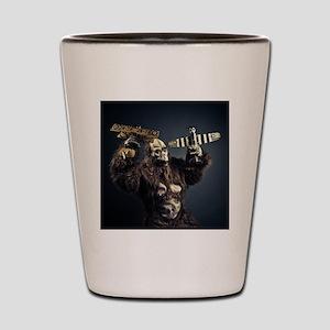 crazy monster Shot Glass