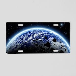 te3_large_servering_667_H_F Aluminum License Plate