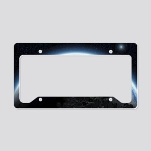 te_pillow_case License Plate Holder