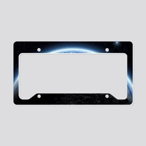 te_Rectangular Canvas Pillow License Plate Holder