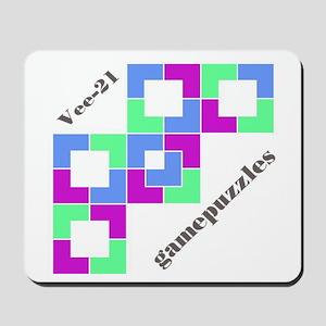 VEE-21 gamepuzzles Mousepad
