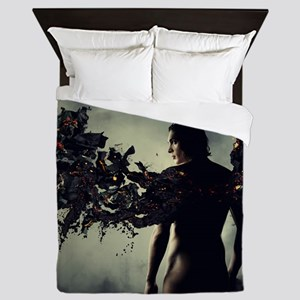 smouldering wings Queen Duvet