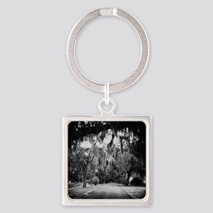 cemetery in savannah Square Keychain