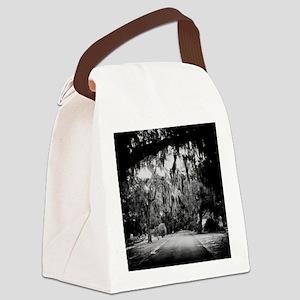 cemetery in savannah Canvas Lunch Bag