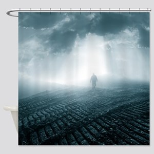 The lost planet Shower Curtain