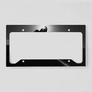 Snowboarding Silhouette License Plate Holder