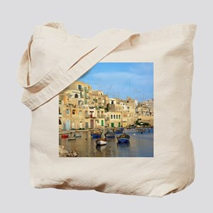 Saint Julian's Bay in Malta Tote Bag
