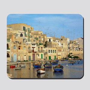 Saint Julian's Bay in Malta Mousepad