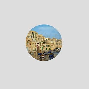 Saint Julian's Bay in Malta Mini Button