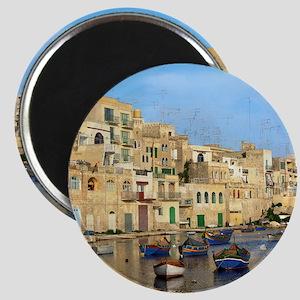 Saint Julian's Bay in Malta Magnet