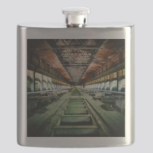 Ruined Factory Abandoned Industry Interior Flask