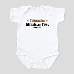 Cairnoodle dog Infant Bodysuit
