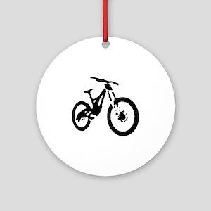 Mountain Bike Round Ornament