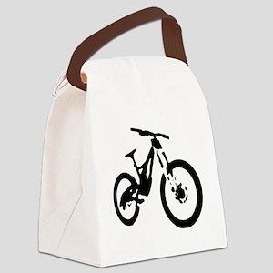 Mountain Bike Canvas Lunch Bag