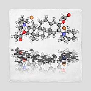 Pancuronium bromide drug molecule Queen Duvet