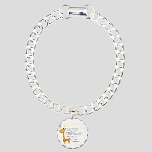 Here is the Key Charm Bracelet, One Charm