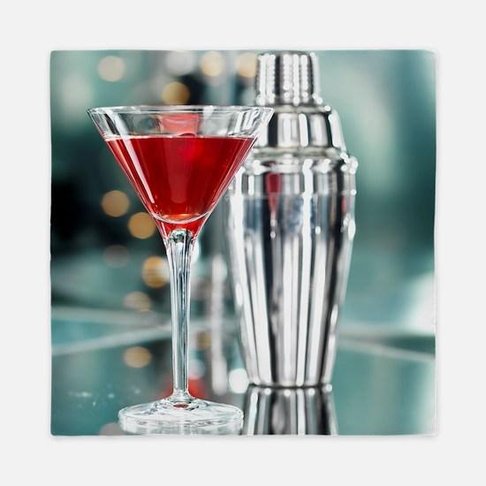 Red Martini Queen Duvet