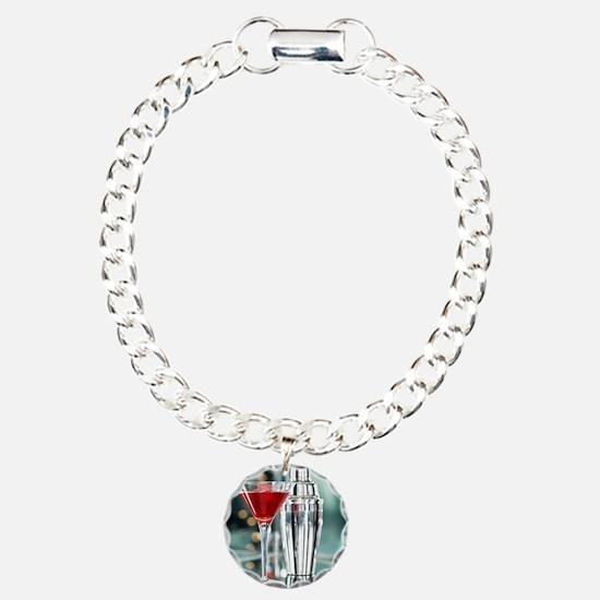 Red Martini Bracelet