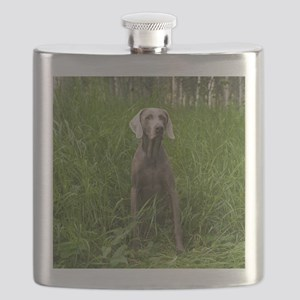 Portrait of Dog Flask