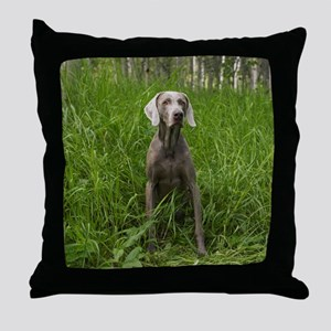 Portrait of Dog Throw Pillow