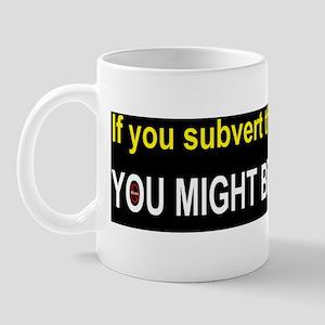 Anti Obama fascistd Mug