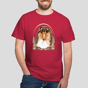 Collie Gold Ring Dark T-Shirt