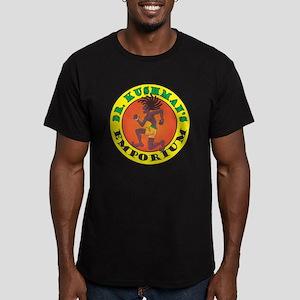 Kushman Logo Men's Fitted T-Shirt (dark)